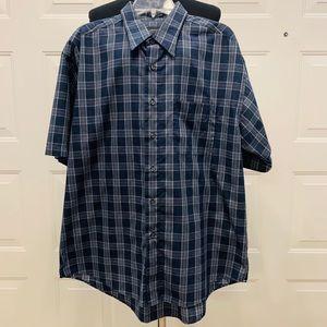 🔥🔥 Arrow Wrinkle Free Short Sleeve Shirt Sz L